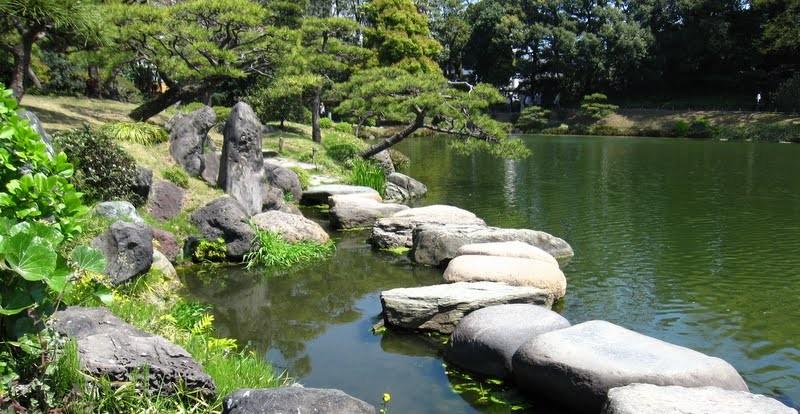 Jardim Kiyosumi Teien no Japão